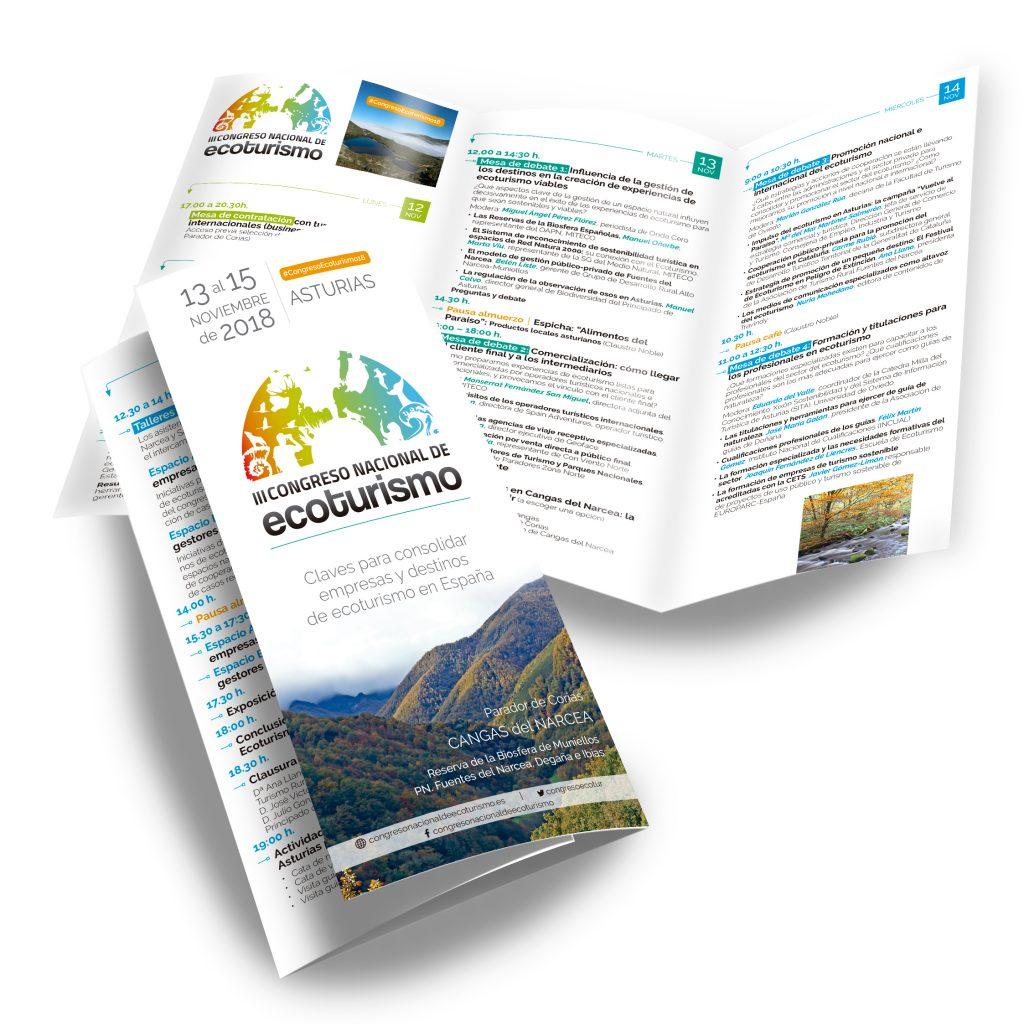 tríptico 3er congreso nacional de ecoturismo