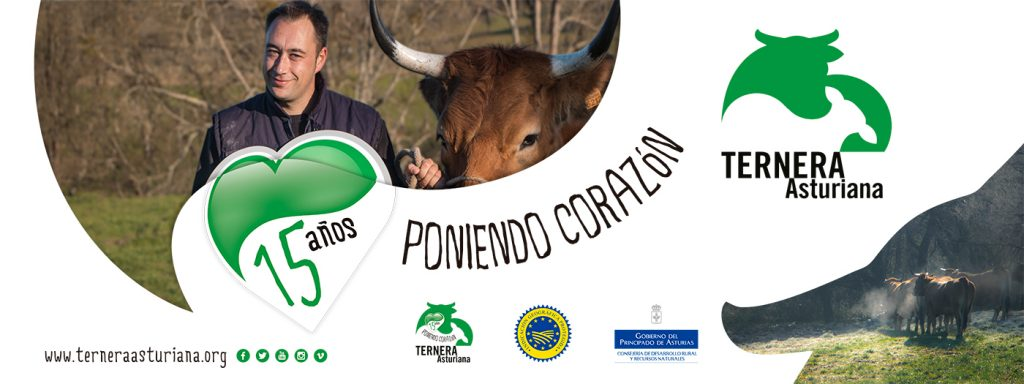David Maujo es un ganadero de 36 años de Pruneda, Nava, que apuesta por la mejora de la raza Asturianas de los valles